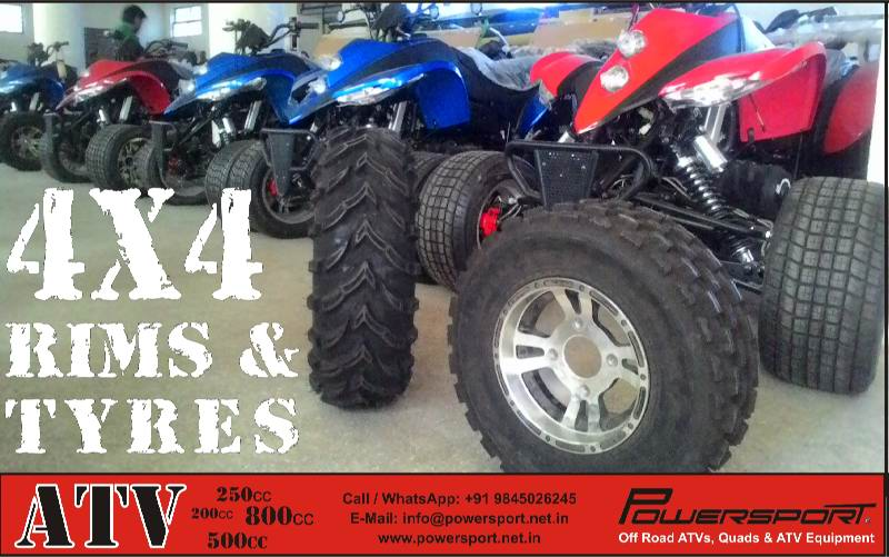 4x4 Rims & Tyre for sale in India