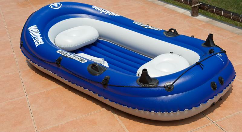 Inflatable Fishing Boat WILD RIVER