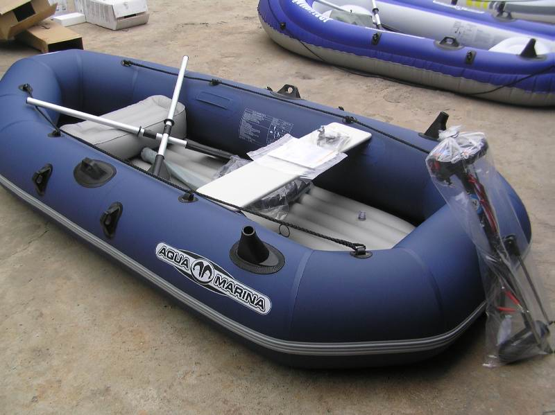 buy inflatable boat for fishing with electric outboard motor