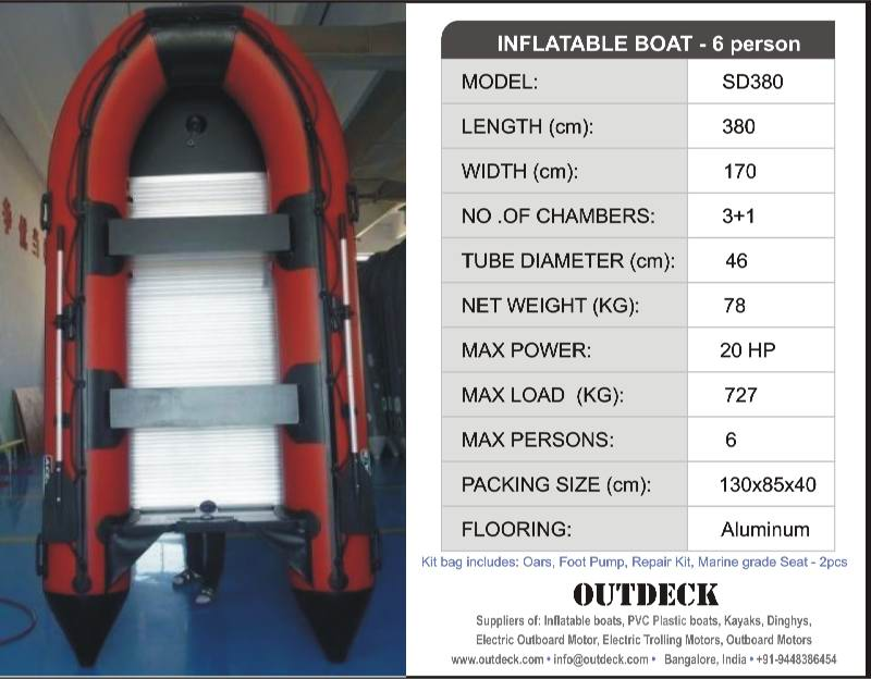 New stock of Inflatable Boats, Inflatable Rafts, 2-6 person Boats