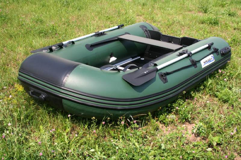 Portable Inflatable Boat with Electric Motor ideal Boat for Fishing