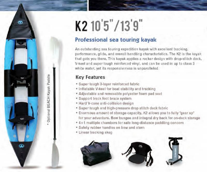 K2 Inflatable Kayak