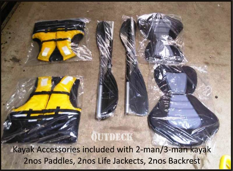 kayak paddles life-jackets