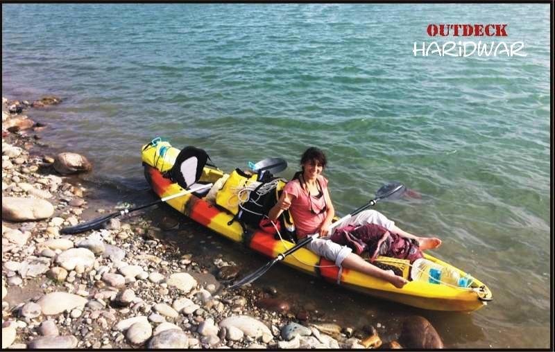 kayaking in haridwar