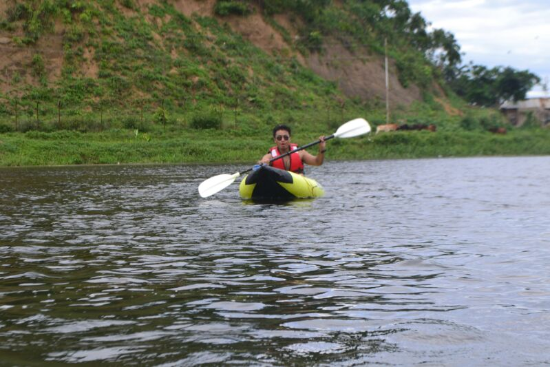 Armstrong Pame Kayaking in Manipur