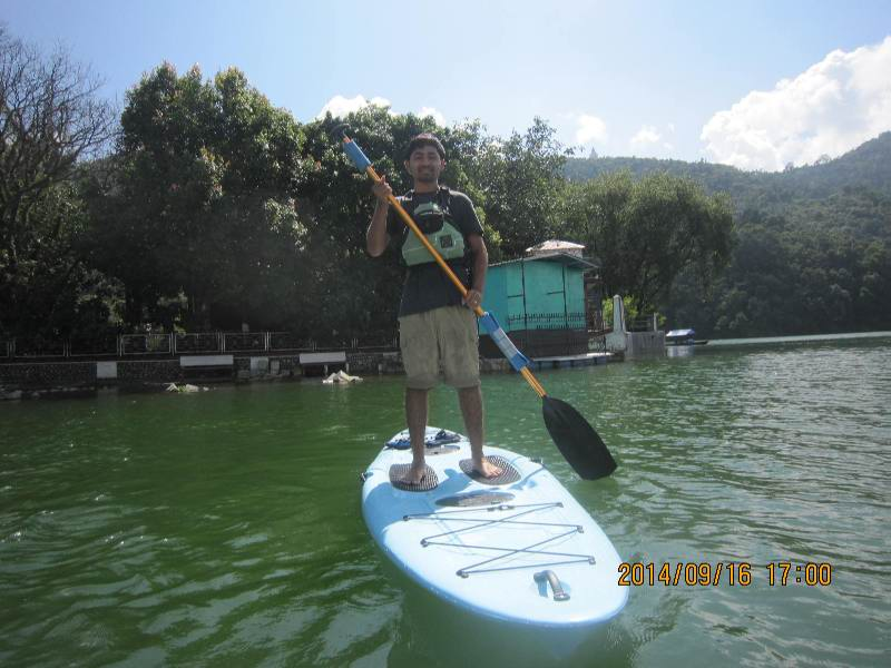 Stand up Paddling in Nepal