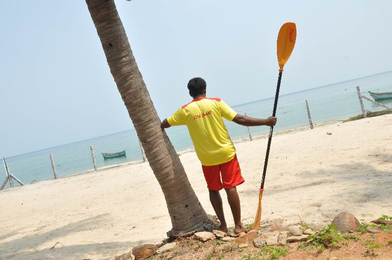 Kayaking in Rameshwaram, Tamil Nadu