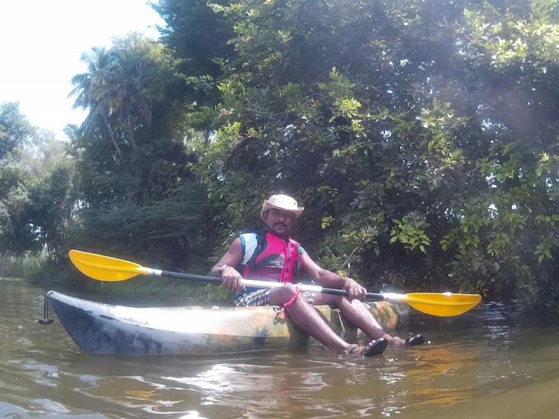 Watersports Kayaking in Tirunelveli Tamil Nadu