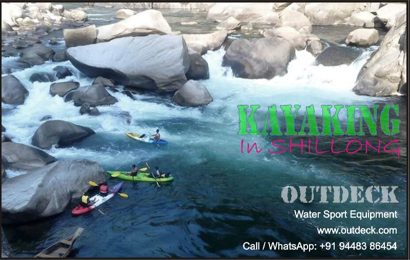 Kayaking in Shillong