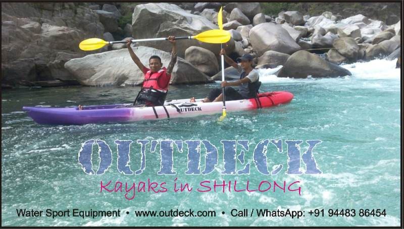 Water Sports Kayaking in Shillong