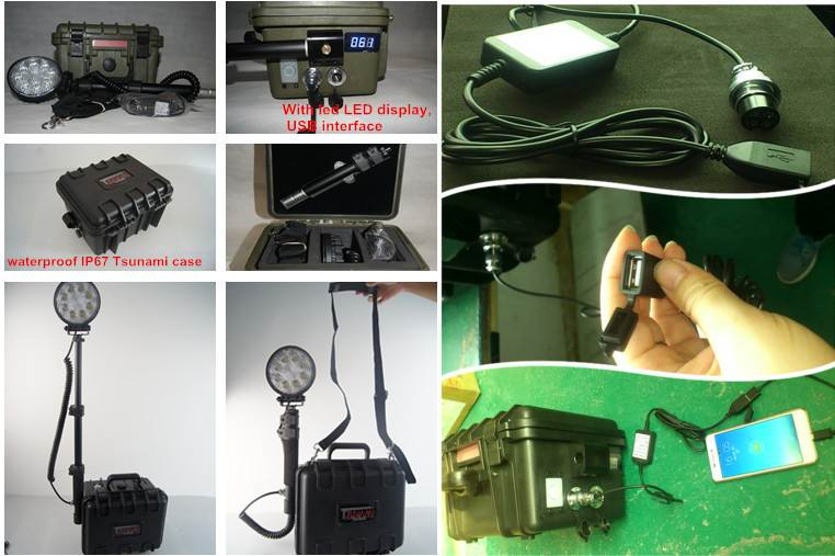24W Remote Area LED Work Light