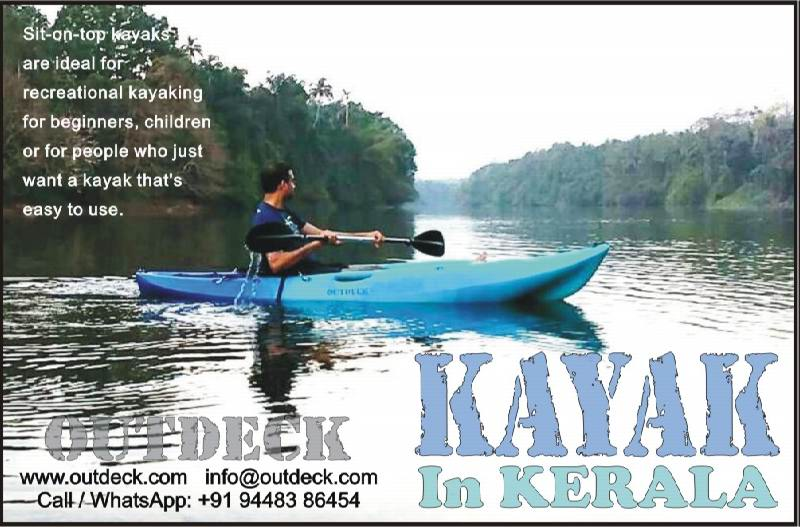 Watersports Kayaking in Kerala