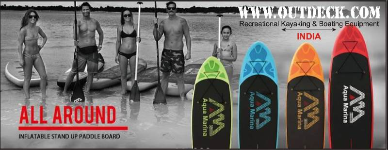 SUP Stand-up paddleboard gear in India by Outdeck