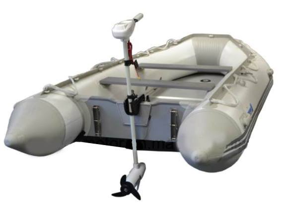 36lbs electric trolling outboard boat motor for Strongest 12v trolling motor
