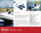 4 man Inflatable Sports Boat