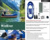 WILD RIVER Inflatable Fishing Boat with Electric Motor