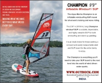 Inflatable Stand up Paddleboard with Windsurf CHAMPION